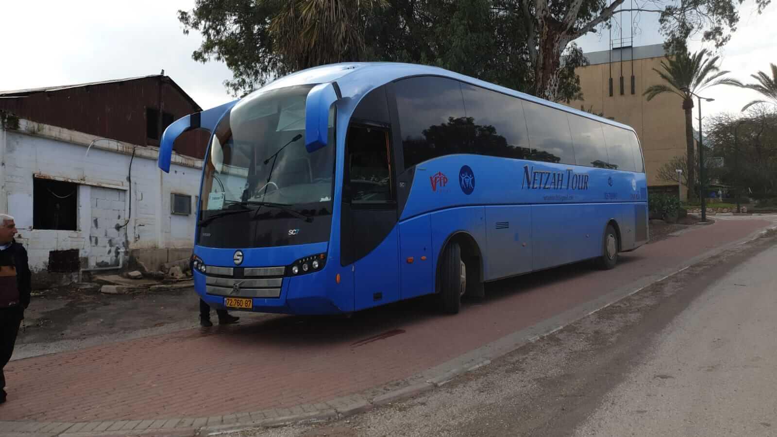 אוטובוס 60 מקומות